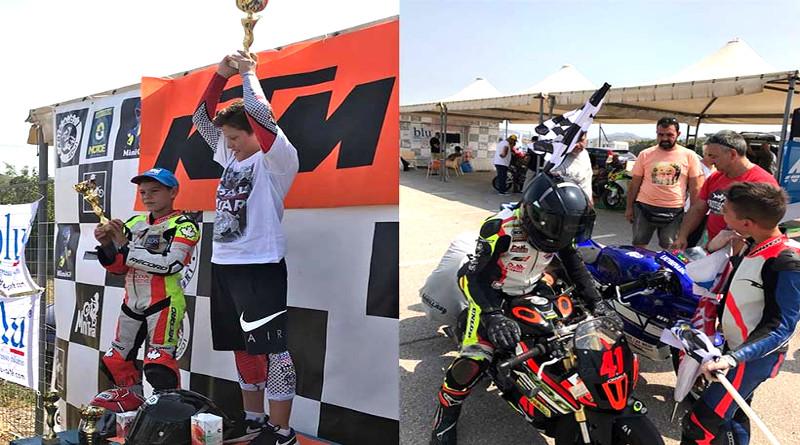 O Γιάννης Περιστεράς κέρδισε τους 2 αγώνες MiniGP1 σπάζοντας τα χρονόμετρα!