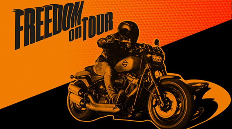 Το Harley On Tour στην Έκθεση Μοτοσικλέτας 2018.