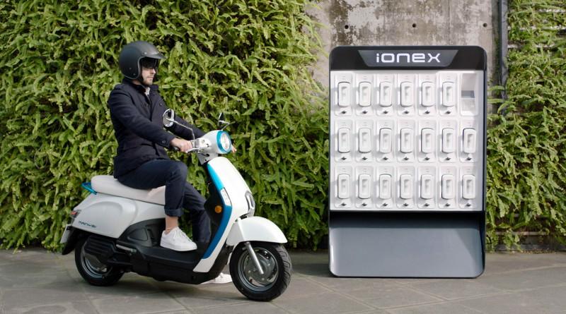 Κymco ionex: Ένα ηλεκτρικό σύστημα που δίνει τη λύση.