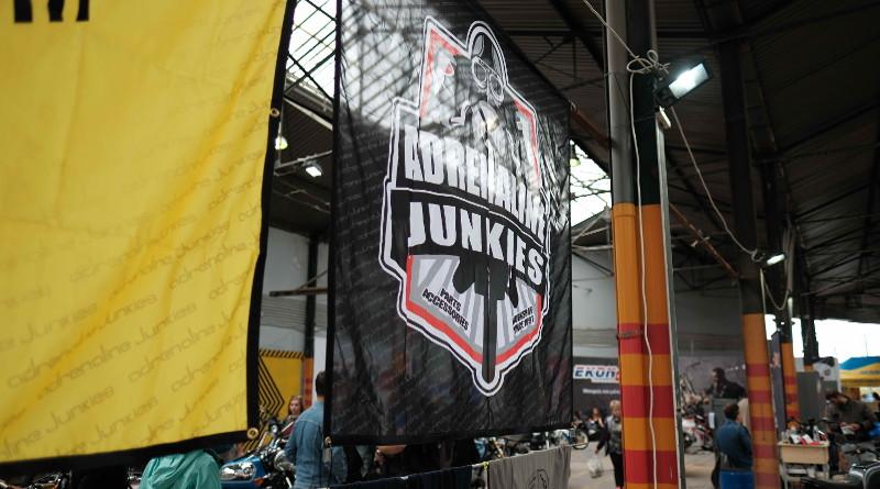 Οι Adrenaline Junkies στο Moto Show Θεσσαλονίκης.