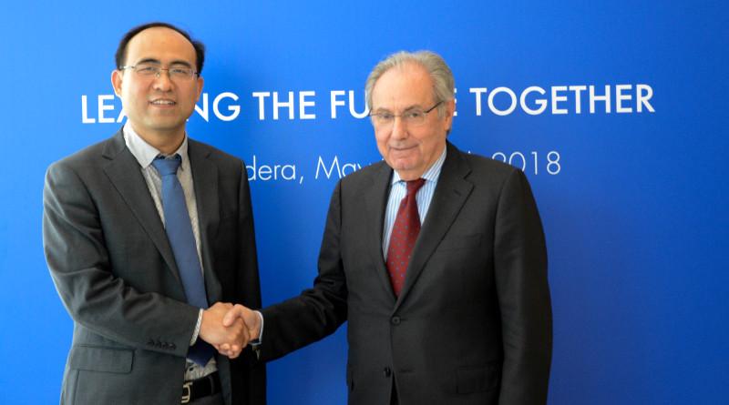 Υπογραφή συμφωνίας Piaggio Group και Foton Motor Group.