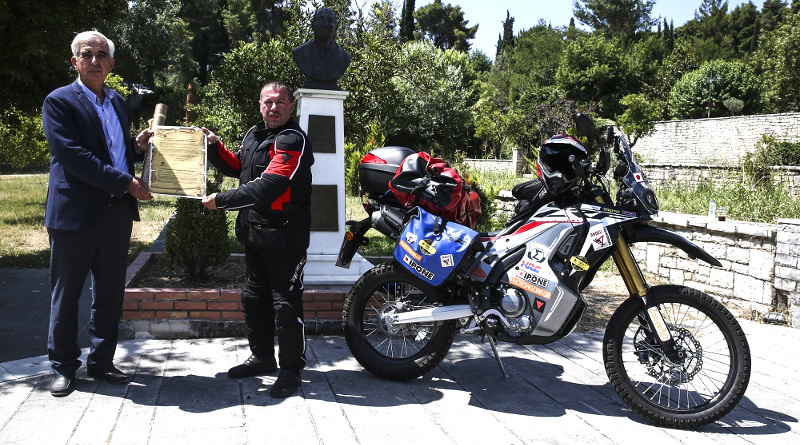 «Δρόμος Ειρήνης 2018», με Honda CRF250 Rally.