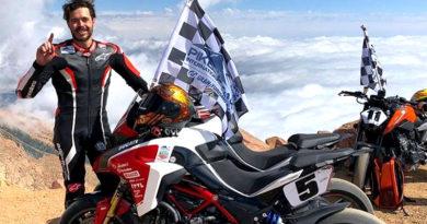 Ο Dunne κατακτά την πρώτη θέση στο Pikes Peak με Multistrada 1260! (Βίντεο)