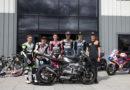 Επίδειξη της Triumph Moto2 στο Βρετανικό MotoGP.